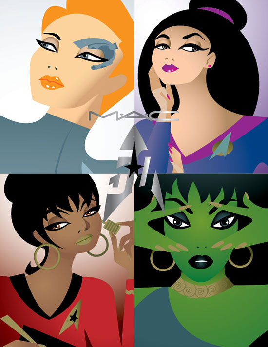 MAC Cosmetics Trek Inspired Collection