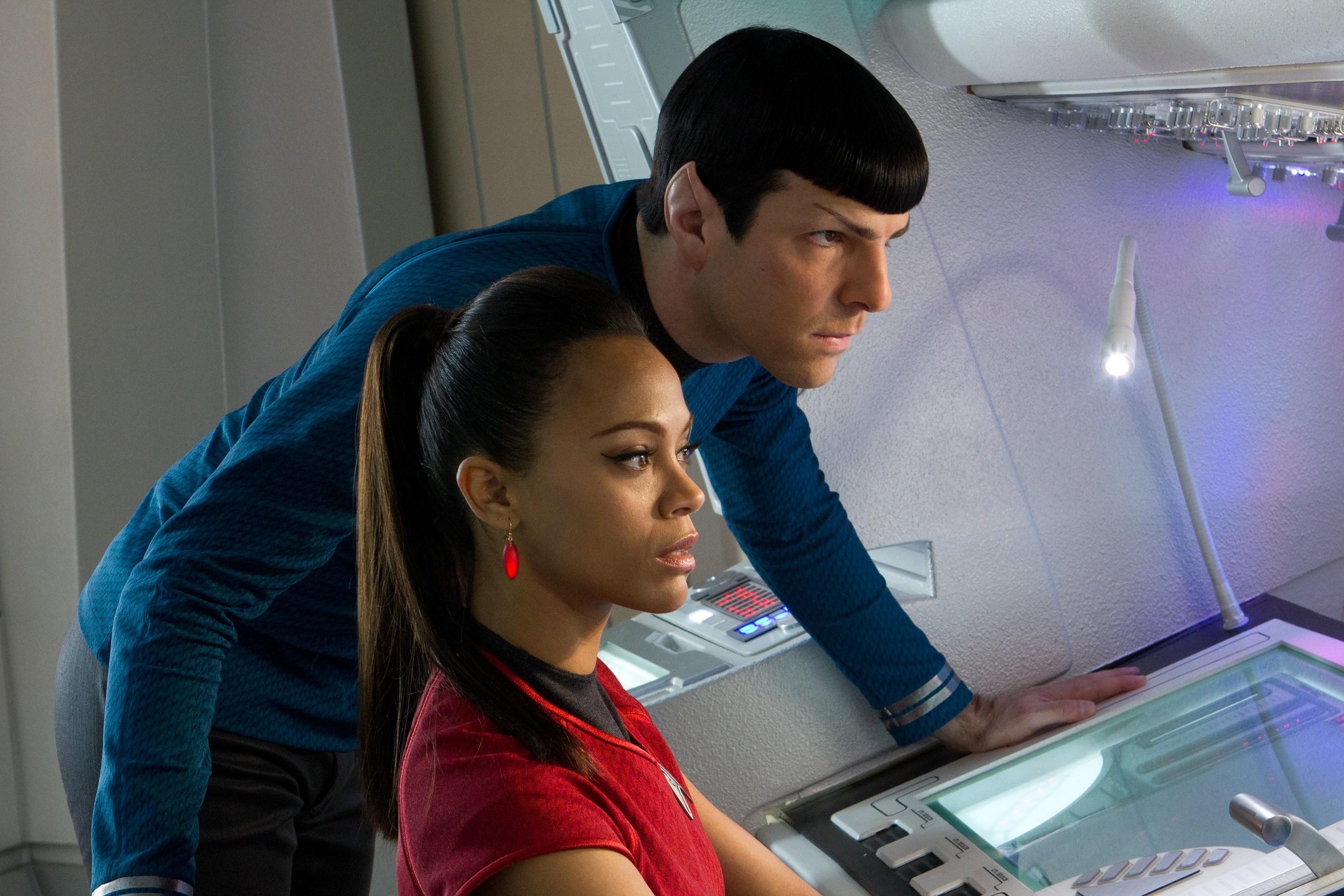Spock and uhura   Trekkie Girls